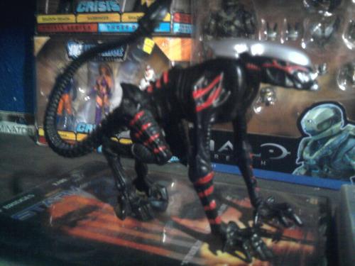 aliens kenner alien cougar jaguar negro y rojo 1 vintage