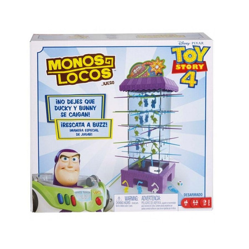 aliens locos toy story 4 mattel games gfm25
