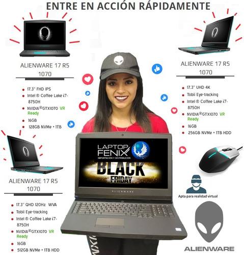 alienware 17 r5 ci9-8950hk| 32gb| 512gb +1tb| 8gb gtx1080