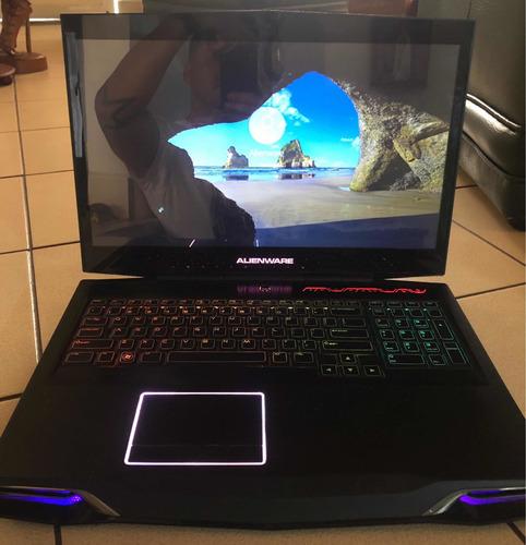 alienware m17x gaming portatil computador 16gb ram 750gb hd