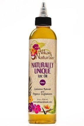 alikay naturals nat unique loc oil, 8 onzas