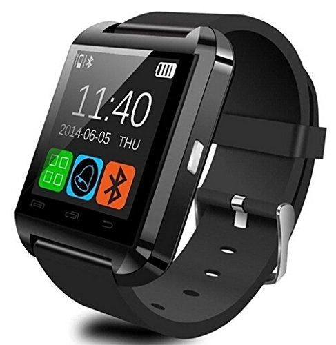 1452feb93609 Alike U8 Bluetooth Smartwatch Reloj Pantalla Táctil Para Ios ...
