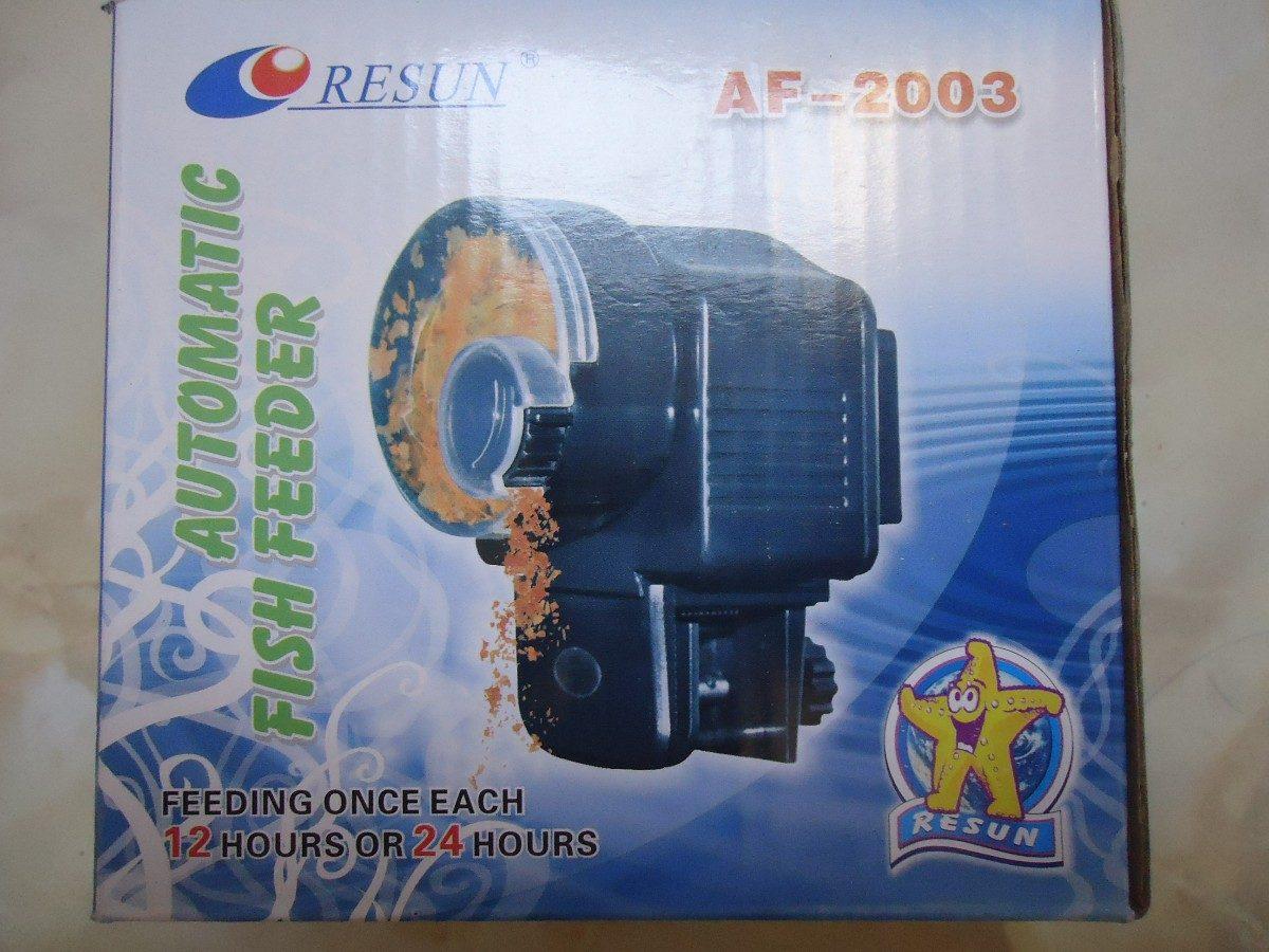 Alimentador autom tico de peces resun mod af 2003 310 for Alimentador automatico peces