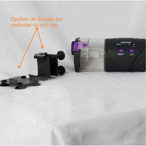 alimentador automático para aquários hopar h 9000 a pilha ropar h9000 h-9000