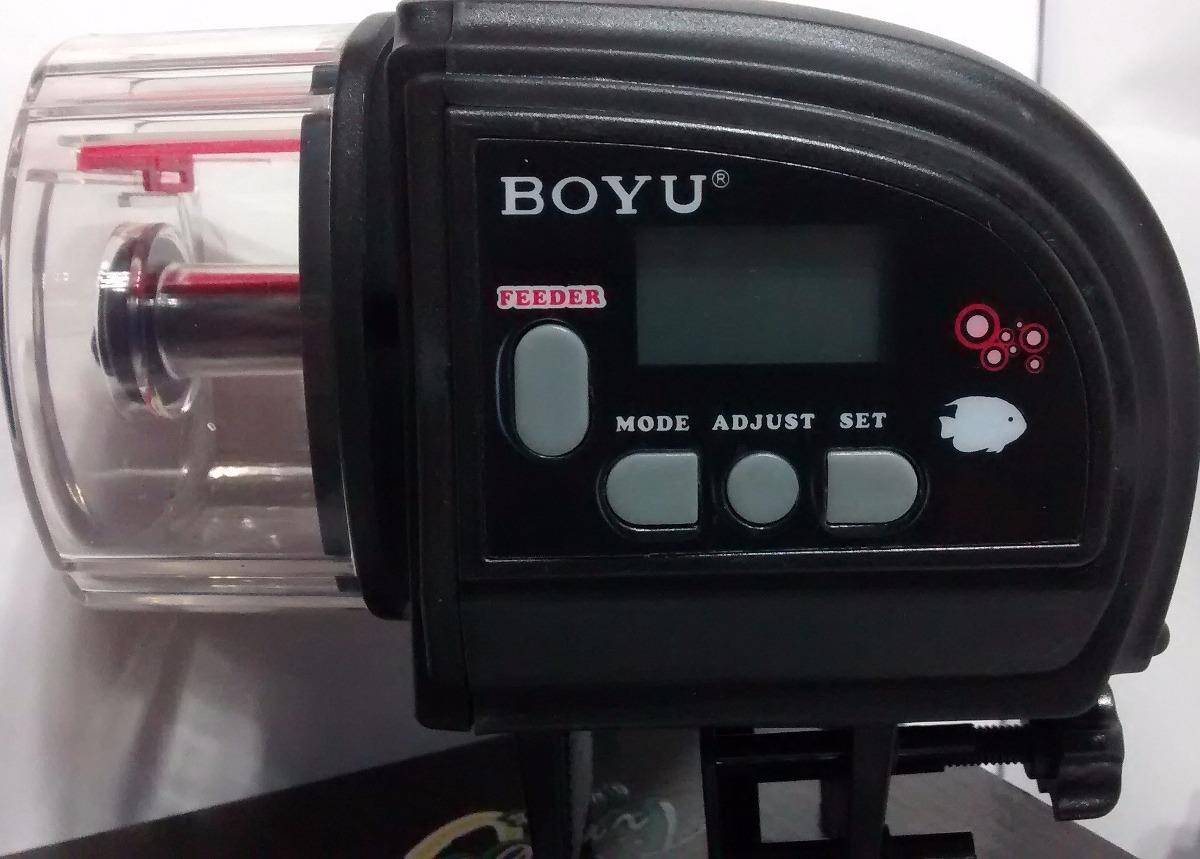 alimentador automatico boyu zw82 acuarios peceras peces