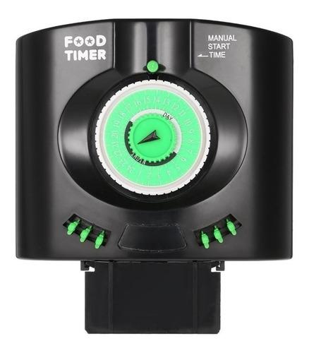 alimentador automático soma food timer tool aquário férias