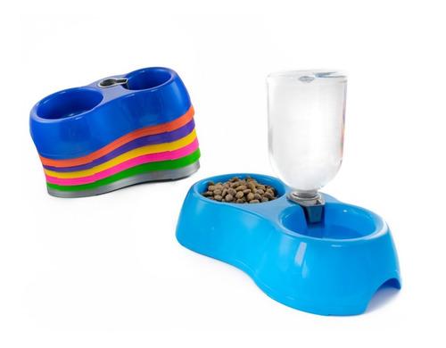alimentador con bebedero gato 500ml