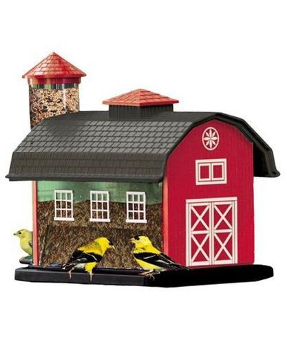 alimentador de pájaros combo de semilla combo red barn de