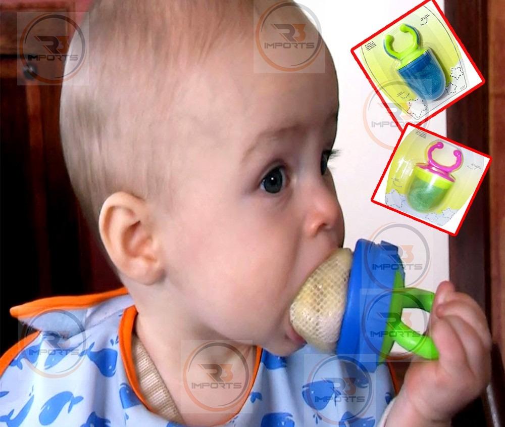 Alimentador infantil c capa seguro p beb s frutas for Comedor de frutas para bebe