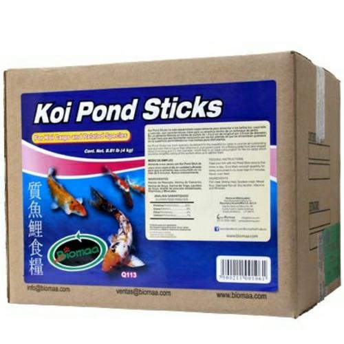 alimento 8kg para peces de estanque koi pond sticks oferta