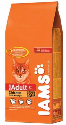 alimento balanceado iams gato adulto 3 kg premium