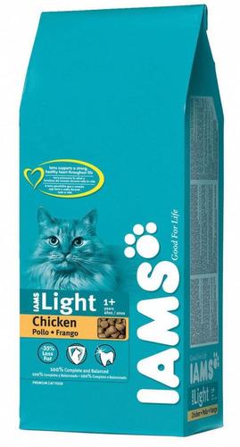 alimento balanceado iams gato adulto light 1 kg premium