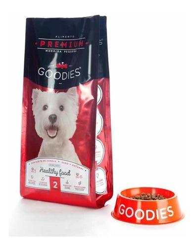 alimento balanceado premium perro pequeño goodies 2kg bolsa