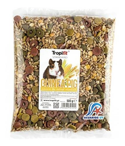 alimento comida para cobayos (cuy). tropifit guinea pig 500g