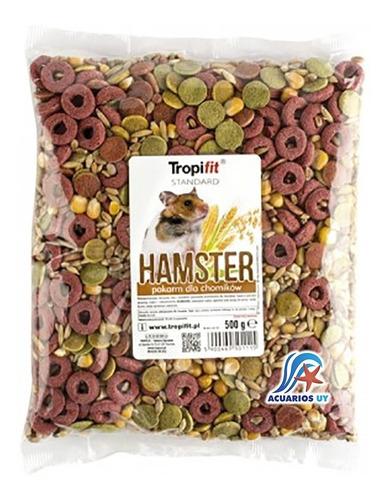 alimento comida para hamster. tropifit hamster 500g