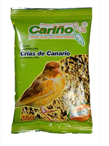 alimento crias de canario 150 gr. cariño