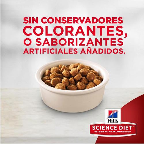 alimento croqueta perro raza pequeña hill's science 7 kg