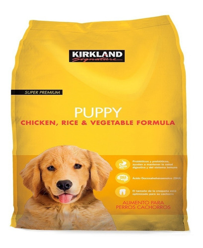 alimento croquetas kirkland puppy cachorro 9 kg