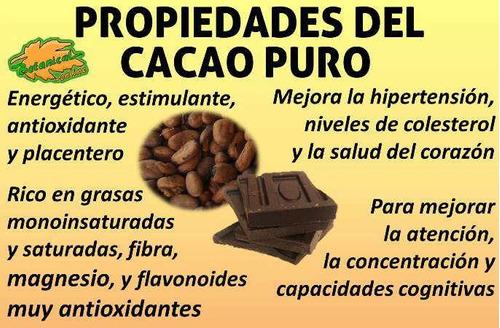 alimento de los dioses pasta de cacao 100% puro y con especi