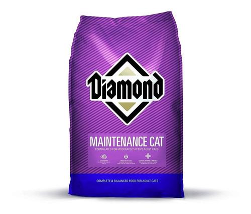 alimento diamond mantenimiento para gato 18kg - envío gratis