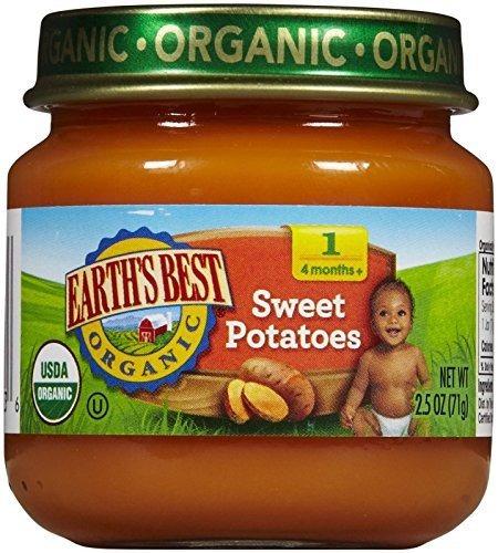 alimento earth's best orgánico fuente de vitamina a y c