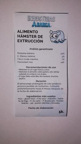 alimento extruido especial para ratas de laboratorio 5 kilos
