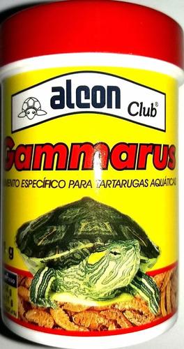 alimento gammarus tortugas peces axolotes.acuario el delfin