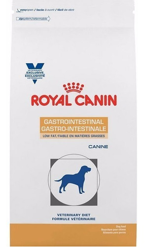 alimento gastro intestinal low fat royal canin 13 kg