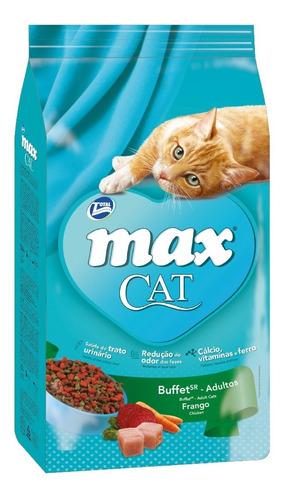 alimento gato f max cat buffet frango sr 3kg