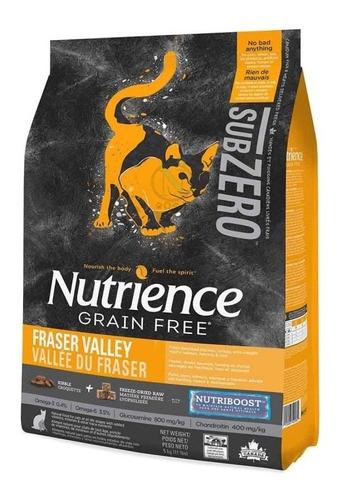 alimento gato nutrience subzero fraser valley (5kgs) + envío