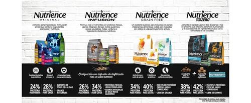 alimento gatos nutrience grain free 2,27kgs + envío