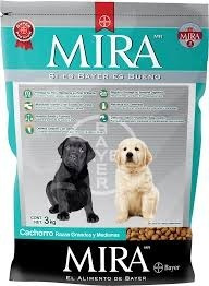 alimento mira cachorro bayer 20kg