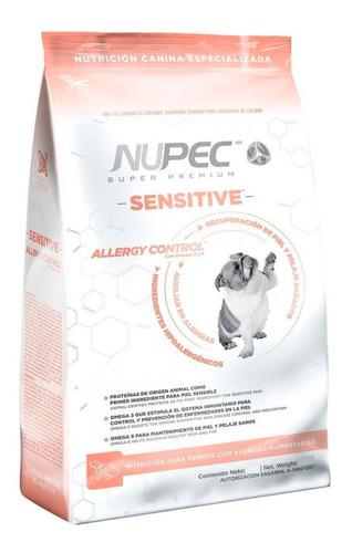 alimento nupec sensitive - 15 kg caducidad jun 2020