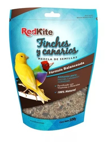 alimento para canarios finches aves 500 grs.