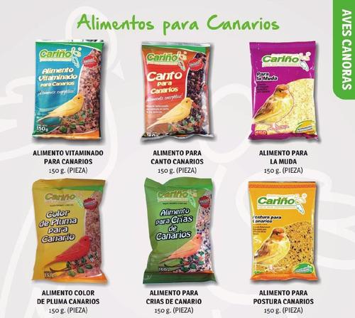 alimento para canarios (paquete de 12 piezas)
