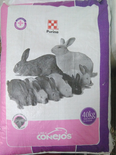 alimento para conejo 40kg