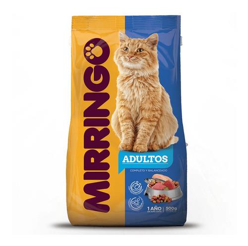 alimento para gato adulto mirringo - kg a $6750