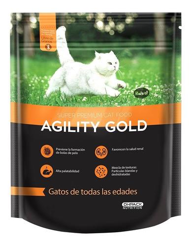 alimento para gato -agility gold