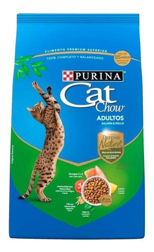 alimento para gato cat chow nature defense adulto 7.5 kg