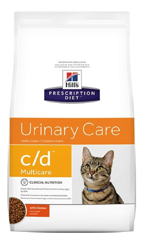 alimento para gato -hills felino c/d