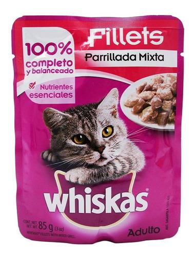 alimento para gato homestyle parrillada mix. 85 grs whiskas