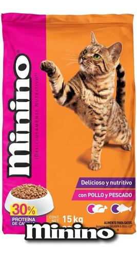 alimento para gato minino 15 kg