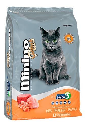 alimento para gato minino plus 10 kg