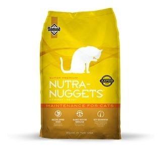 alimento para gato -nutra nuggets mantenimiento