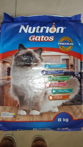 alimento para gatos 8kilos importado 25verdes