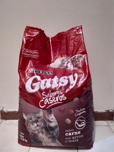 alimento para gatos gatsy