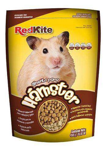 alimento para hamster  y jerbo tipo croqueta 450grs