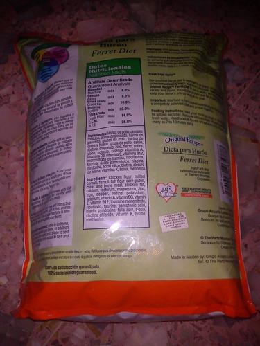 alimento para huron hartz 5kg