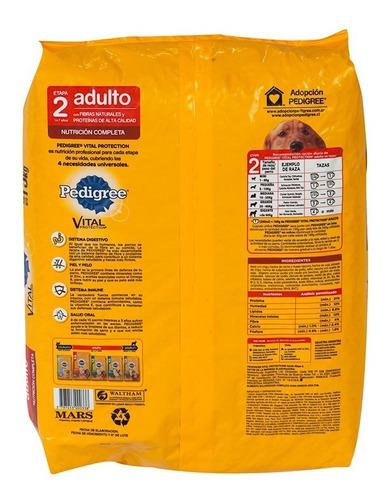 alimento para mascotas pedigree carne/pollo x 15kg