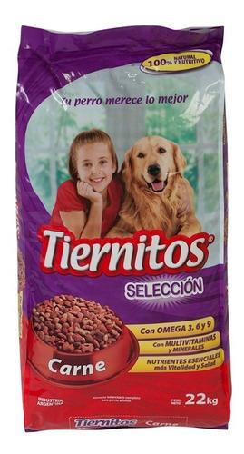 alimento para mascotas tiernitos carne x 22kg